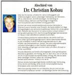 Abschied-von-Dr. Dr. Dr.Christian-Kobau