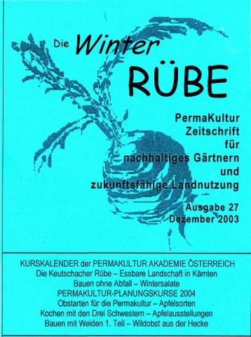Rübe-PermaKulturZeitschrift